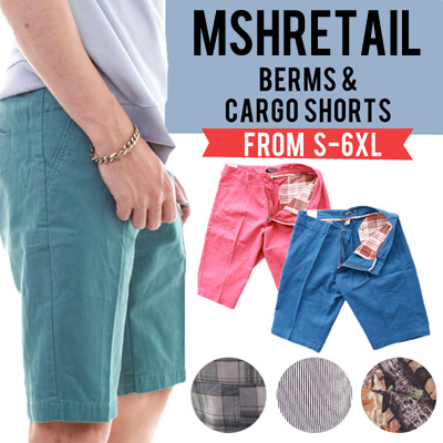 New Arrival! FREE Delivery! Mens Stretchable Coloured Shorts! Comfy! Fast Delivery Deals for only S$19.9 instead of S$0