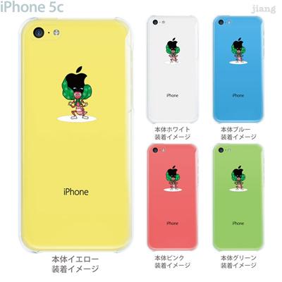 【iPhone5c】【iPhone5c ケース】【iPhone5c カバー】【ケース】【カバー】【スマホケース】【クリアケース】【クリアーアーツ】【Clear Arts】【アップルヘアー・泥棒】 01-ip5c-zec008の画像