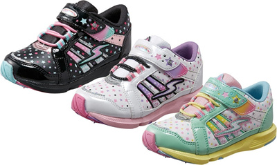 (A倉庫)SUPER STAR スーパースター SS K535 バネのチカラ パワーバネ 子供靴 スニーカー 女の子 キッズ シューズ 靴【2014年モデル】の画像