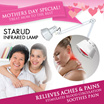 [SUPER SALE] StarUD Infrared Lamp * Effectively relieve aches and pains * 275WATTS * MOTHER DAY GIFT