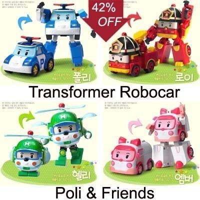 Трансформер Robocar Poli