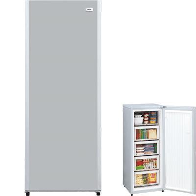 ハイアールまとめ買いにちょうどいい広さ!132L前開き式冷凍庫(シルバー)JF-NUF132G-S