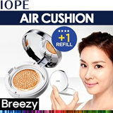 BREEZY ★ [Iope] Air Cushion XP SPF50+ PA+++ 15g with Refill / Sold 1 Item per 4 seconds / RX / XP / Air Cushion Blusher / Cushion / Amorepacific / Intense Cover / Matte Finish / Korean Cosmetics