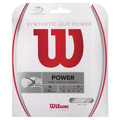 ウイルソン(Wilson) シンセティック・ガット・パワー16 ナチュラル WRZ945100 【テニス用品 ストリング ガット ウィルソン】の画像