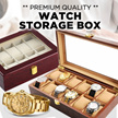 ★[Local Seller/Luxury Watch Boxes]★ 2/3/4/5/6/8/10/12/20/24 Slots Watch Storage Box/Jewelry/Winders