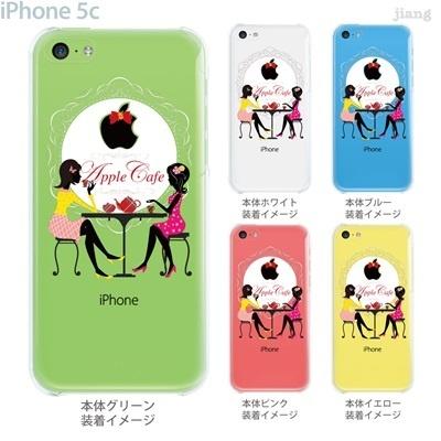 【iPhone5c】【iPhone5cケース】【iPhone5cカバー】【iPhone ケース】【クリア カバー】【スマホケース】【クリアケース】【イラスト】【クリアーアーツ】【アップルカフェ】 01-ip5c-zec047の画像