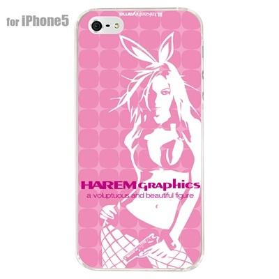【iPhone5S】【iPhone5】【HAREM graphics】【iPhone5ケース】【カバー】【スマホケース】【クリアケース】【ストリート】【ブランド】 hgx-ip5c-024bの画像