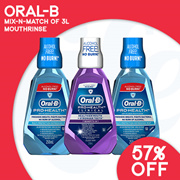 [PnG]【Raya ❤】Oral B Prohealth Mouthrinse - 【Up to 48% Off!】