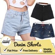 JESSCLOSET - $9.9 FLAT Denim Shorts Comes In Plus Size Up To 10XL Many designs!