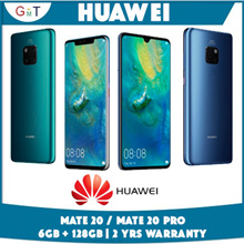 [▼36% Price reduced!!] Huawei Mate 20 / Mate 20 Pro / 6GB + 128GB / Local 2 years Huawei warranty