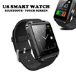 U8 Bluetooth Smart Watch / Black / 1.48 inch screen size / Stopwatch function / Support hands-free calls / Anti-lost alarm function / Remote taking photo function (only for android phone)