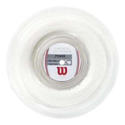 ウイルソン(Wilson) シンセティック・ガット・パワー16 ナチュラル WRZ905100 【テニス用品 ストリング ガット ウィルソン】の画像