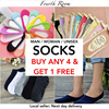 ▷4+1 / GIVEAWAY◁SOCKS Woman Man /Invisible Boat Ankle / Happysocks/ Local seller [Fourthroom]