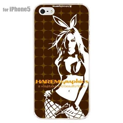 【iPhone5S】【iPhone5】【HAREM graphics】【iPhone5ケース】【カバー】【スマホケース】【クリアケース】【ストリート】【ブランド】 hgx-ip5c-024dの画像