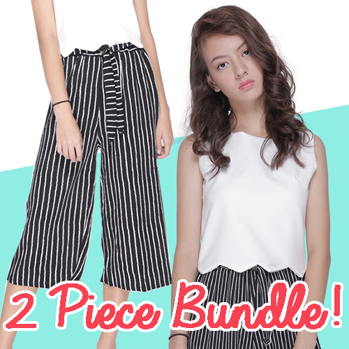 2 For the Price of 1! Print culottes on SALE! Deals for only S$29.99 instead of S$0