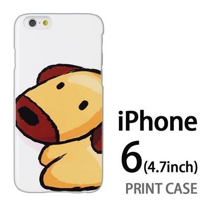 iPhone6 (4.7インチ) 用『0723 干支 戌』特殊印刷ケース【 iphone6 iphone アイフォン アイフォン6 au docomo softbank Apple ケース プリント カバー スマホケース スマホカバー 】の画像