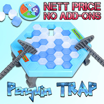 Penguin Trap Super Sale - Buy 4 Get 1 Free - Buy 8 Free Shipping - NETT $4.90 ONLY