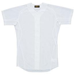 ゼット(ZETT) メカパンライト ユニフォームメッシュシャツ BU150MS 1100 ホワイト 【野球 ユニホーム 練習着 白ユニ】