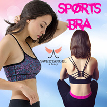 (Hot Sales)^SweetangelShop Local Seller/Local Exchange^ Premium Sports Yoga Zumba Gym Running Bra *Get Fit Burn those FATS!* Premium Ladies Sports Bra[Medium - High support]