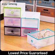 Stackable Shoe Box / Storage Shelf Organizer Rack