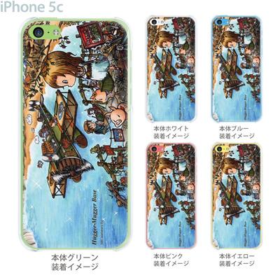 【SWEET ROCK TOWN】【iPhone5c】【iPhone5cケース】【カバー】【スマホケース】【クリアケース】【Clear Arts】【アート】 46-ip5c-sh0010の画像