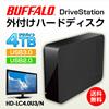 ★数量限定★DriveStation HD-LC4.0U3/N USB3.0 外付けハードディスク PC/家電対応 4TB