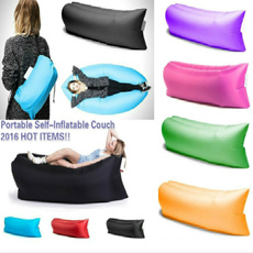 Portable Self Inflatable Couch Lazy Sofa Bed 6 Colours Lamzac No Pump  Needed ! Part 87
