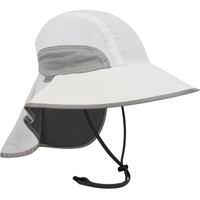 サンデーアフタヌーン(Sunday Afternoon) SA アドベンチャーハット ホワイト×チャコール S2A01001 UVカット 紫外線防止 アウトドア 【メンズ レディース 帽子 ぼうし 日除け】の画像