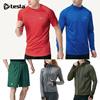 ★TESLA HYPER DRI FIT★ Sports wear/T shirts/Short sleeve/running shorts/pants/Long sleeve/Jacket