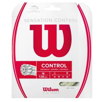 ウイルソン(Wilson) センセーション・コントロール(単張) ナチュラル WRZ941200 【テニス用品 ストリング ガット ウィルソン】の画像