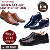【BUY TWO Free Shipping】★Mens Leather shoes★Leather Shoes★Mens Shoes★Dress Shoes★Big Size 454647 Size Shoes★MENS Leather Shoes★womens shoes★Fashion shoes★