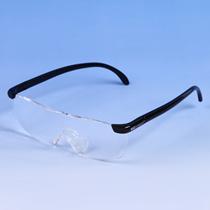 【大ヒット商品】両手が使える拡大鏡メガネ 手が自由になるため、ネイル、読書、スマホなどに大活躍!! お客様より大変好評いただいております。
