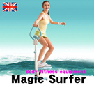 [Orignal]magic surfer Balance Board Surfing Exercise Trainer/BODY SCULPTURE England/Free shipping
