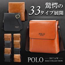 【送料無料】「POLO」人気シリーズバッグ驚愕の価格で登場!!!!Qoo10で大人気のメンズバッグ 本革 ショルダーバッグ ビジネスバッグ メッセンジャーバッグ メンズバッグ 牛革 カジュアル バッグ