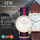 ★*DANIEL WELLINGTON* Daniel Wellington Nato and Leather Strap Watches! For Men and Ladies. Classic Classy Dapper Series FREE BOX Free Shipping and Warranty!