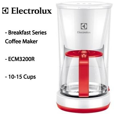 Qoo10 - [Coffee Maker] ECM3200R - Electrolux ECM3200R Breakfast Series Coffee ... : Home Electronics