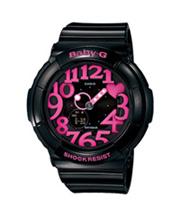 [カシオ]CASIO 腕時計 BABY-G ベビージー ネオンダイアルシリーズ BGA-130-1BJF レディース