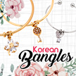 NEW DESIGN ❅ OPEN BANGLE ❅ CUFF BANGLE ❅ CHARM BRACELET ♡ WING / SNOWFLAKE / ROSE / FLOWER / BUTTERFLY / KEY /  ROMAN NUMERAL / HEART ♡ KOREAN FASHION ACCESSORIES / EUROPEAN JEWELRY [LOCAL/SG SELLER]