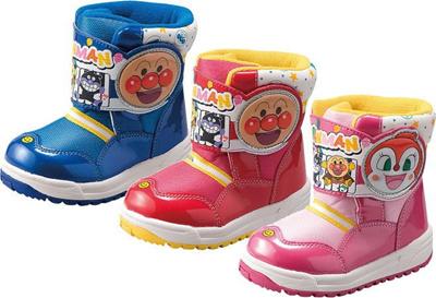 (A倉庫)アンパンマン APM C016ESP 子供靴 キッズ 男の子 女の子 子供スノーシューズ ウインターシューズ スノーブーツの画像