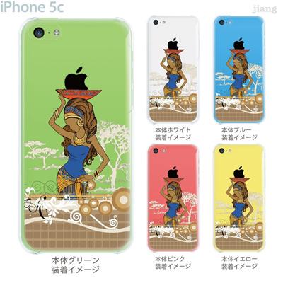 【iPhone5c】【iPhone5cケース】【iPhone5cカバー】【iPhone ケース】【クリア カバー】【スマホケース】【クリアケース】【イラスト】【クリアーアーツ】【アフリカンヒーリング】 01-ip5c-zec035の画像