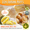 (VP Ducafe) D24 Durian Puffs 6PCS