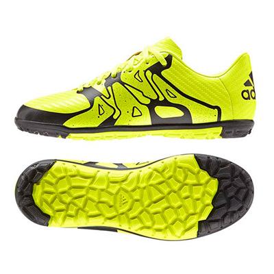 アディダス (adidas) ジュニア エックス15.3 TF J(ソーラーイエロー×ソーラーイエロー×コアブラック) B32974 [分類:サッカー トレーニングシューズ] 送料無料の画像