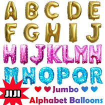 ❤2016 XMAS Special!❤ Alphabet Balloons ★ Number Alphabet Foil Balloons ★ Proposal/Wedding/Party/Decoration/Birthday ★ Jumbo Balloon ★ Fast Delivery ★ [JIJI]