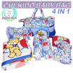 NEW LOOK/GOOD QUALITY/BEST SELLER Tas bayi bayi 4 in 1 Motif Tas Gendongan Bantal merk CHEKIDO
