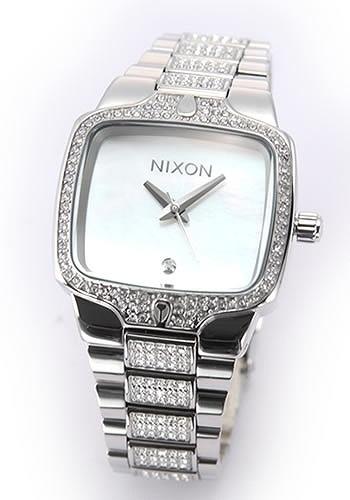 【クリックで詳細表示】[NIXON]NIXON(ニクソン)ニクソン 腕時計 THE SMALL PLAYER (スモール・プレイヤー) レディス・1Pダイヤ&クリスタル・ブレスウオッチ A300-710 レディース腕時計wwni00313l【Luxury Brand Selection】【smtb-m】43%OFF レディース腕時計 ニクソン