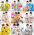 40 Styles Kids Pyjamas Set Long Sleeves [ FLAT SHIPPING ]