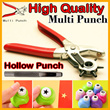 ★Revolving Belt Hole Punch Pliers★Hollow Punch 6pcs Set/Mini Punching/Multipurpose Punching machine Easy 6 hole size/Belt/Bag//Shoes/Watch Leather/Korea 6-in-1 Professional Hole Punch Tool