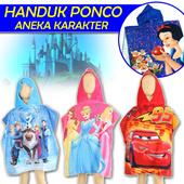 Handuk Ponco Karakter (untuk anak)