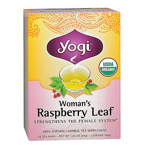 Yogi Tea Woman Raspberry Leaf Caffeine Free 16 Tea Bags Deals for only S$20.08 instead of S$0