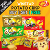 [Winstar]  $7.90 Buy 1 get 1 Free!!!!Potato Crisp Cracker (30 sachets per box)